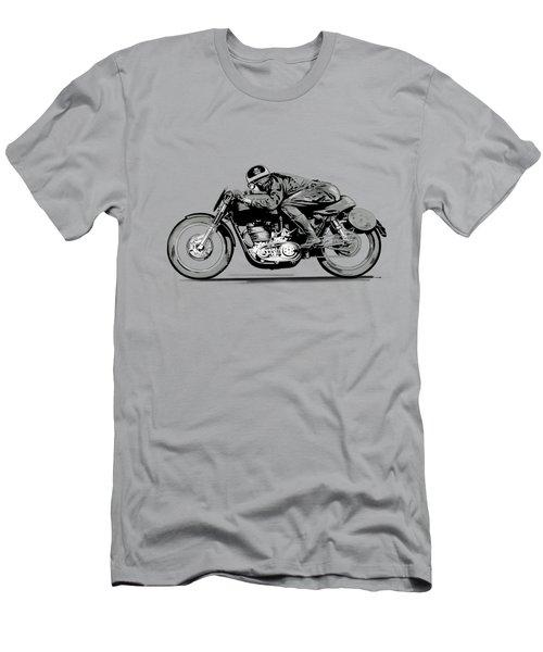 The Motorcycle Dust Devil Men's T-Shirt (Athletic Fit)