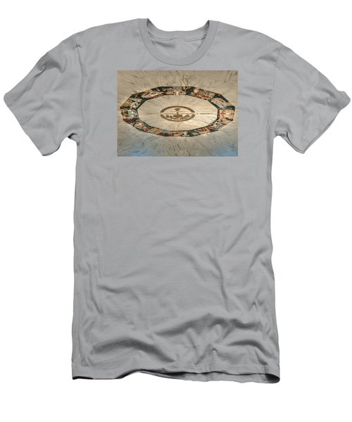 Men's T-Shirt (Athletic Fit) featuring the photograph The Mural by Mark Dodd