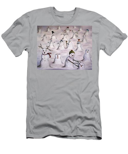 The Mystery Revealed On Snowman Hill Men's T-Shirt (Athletic Fit)