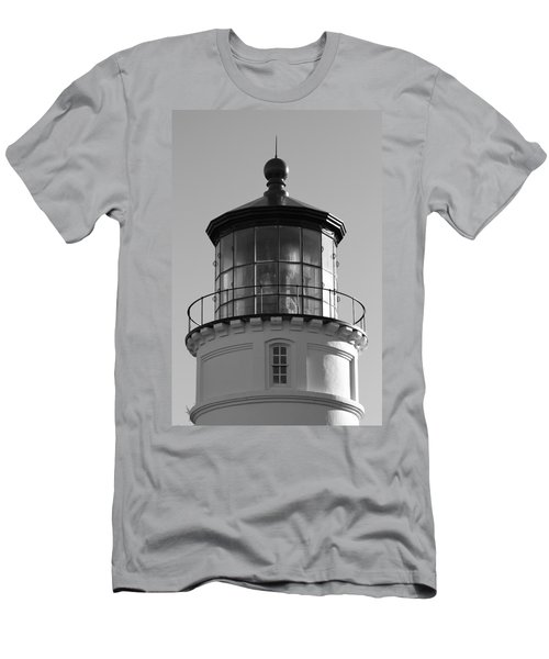 Men's T-Shirt (Slim Fit) featuring the photograph The Night Light by Laddie Halupa