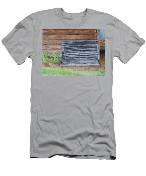 The Old Porch Swing Men's T-Shirt (Athletic Fit)