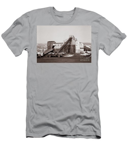 The Olyphant Pennsylvania Coal Breaker 1971 Men's T-Shirt (Athletic Fit)