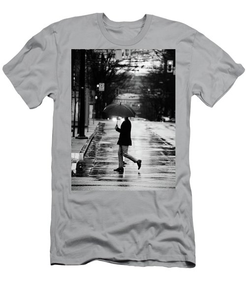 Men's T-Shirt (Slim Fit) featuring the photograph The One Chance I Found  by Empty Wall
