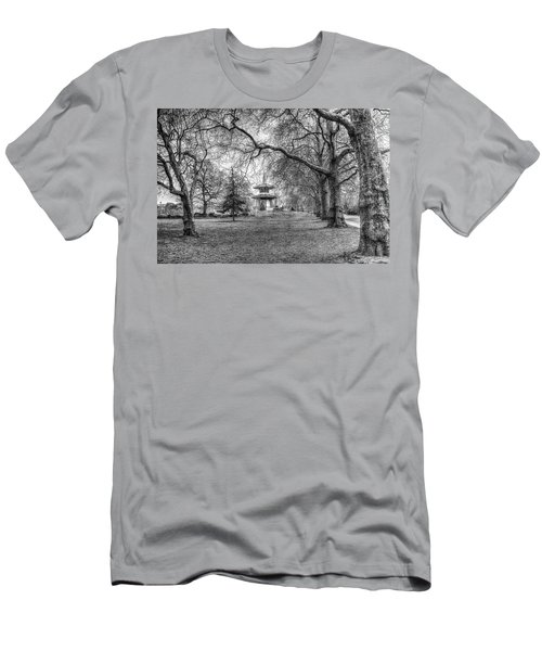 The Pagoda Battersea Park London Men's T-Shirt (Athletic Fit)