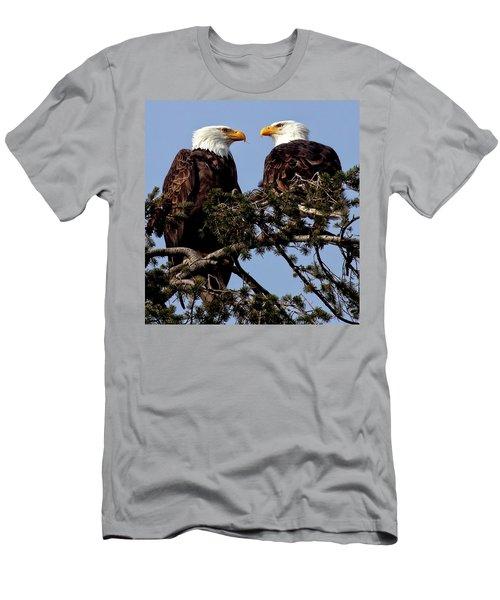 The Parents Men's T-Shirt (Slim Fit) by Sheldon Bilsker