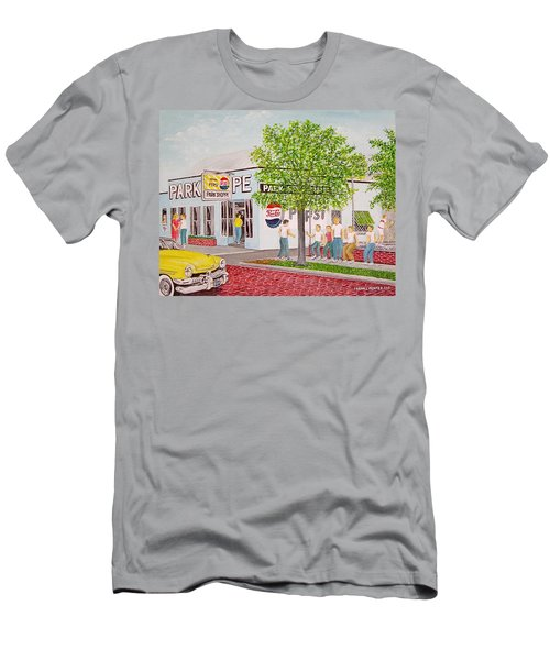 The Park Shoppe Portsmouth Ohio Men's T-Shirt (Athletic Fit)