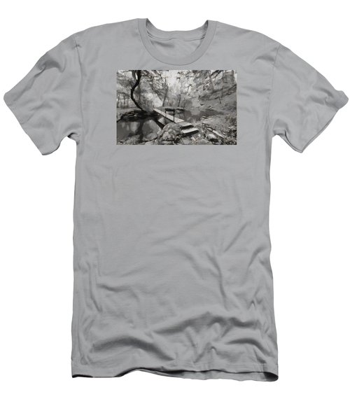 The Path To Nirvana Men's T-Shirt (Slim Fit) by Mario Carini