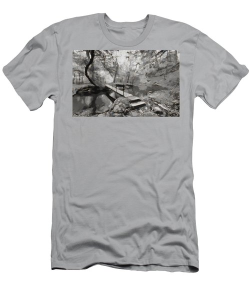 The Path To Nirvana Men's T-Shirt (Athletic Fit)