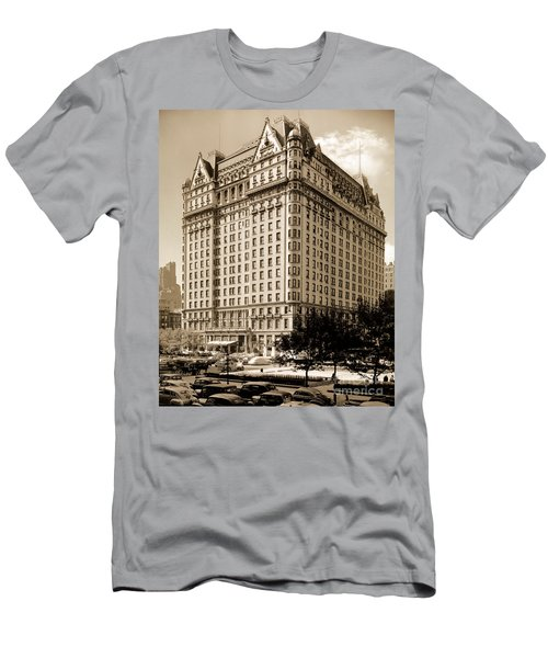 The Plaza Hotel Men's T-Shirt (Athletic Fit)
