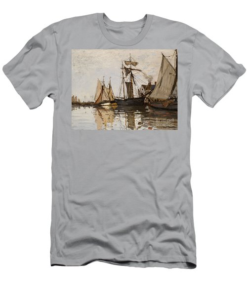 The Port Of Honfleur Men's T-Shirt (Athletic Fit)