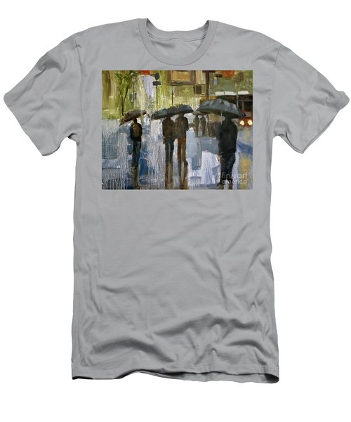 The Rain Came Men's T-Shirt (Athletic Fit)