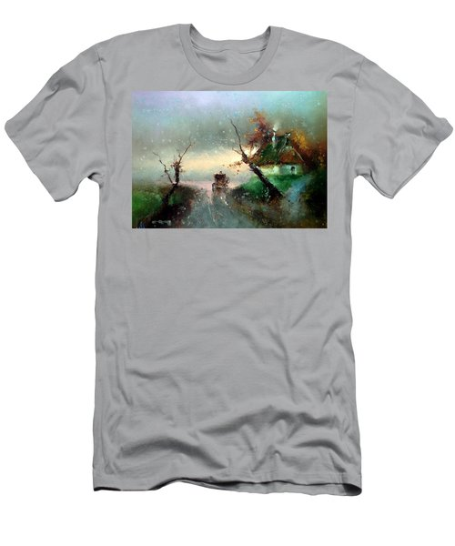 The Rays Of The Morning Sun Men's T-Shirt (Athletic Fit)