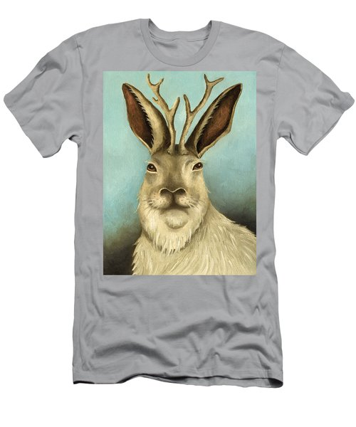 The Real Jackalope Men's T-Shirt (Athletic Fit)