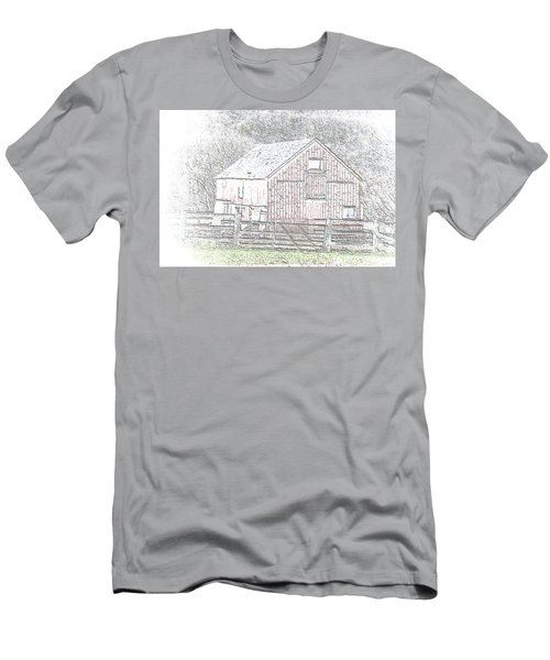 The Red Barn Men's T-Shirt (Athletic Fit)
