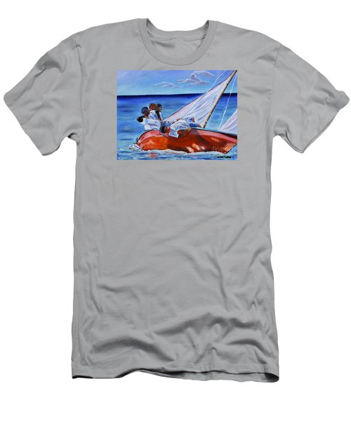 The Red Boat Men's T-Shirt (Athletic Fit)