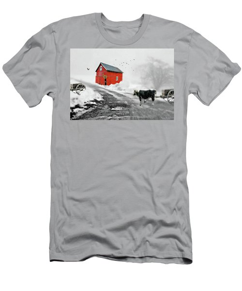 The Red Red Barn Men's T-Shirt (Athletic Fit)