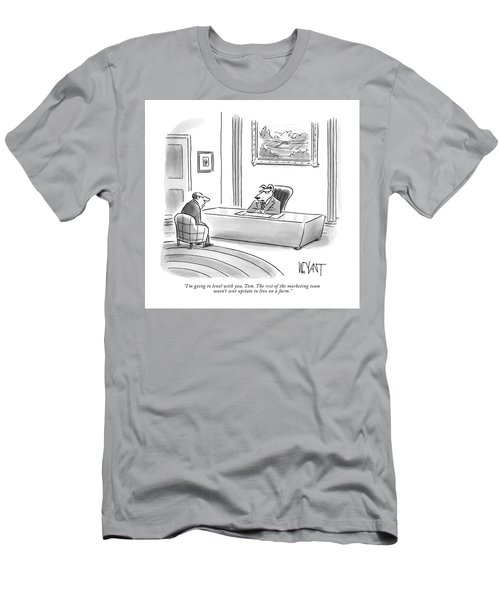 The Rest Of The Marketing Team Was Not Sent Upstate To Live On A Farm Men's T-Shirt (Athletic Fit)