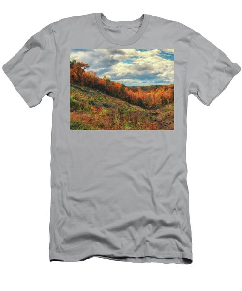 The Ridges Of Southern Ohio In Fall Men's T-Shirt (Athletic Fit)