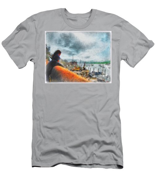 The River Exe Men's T-Shirt (Athletic Fit)