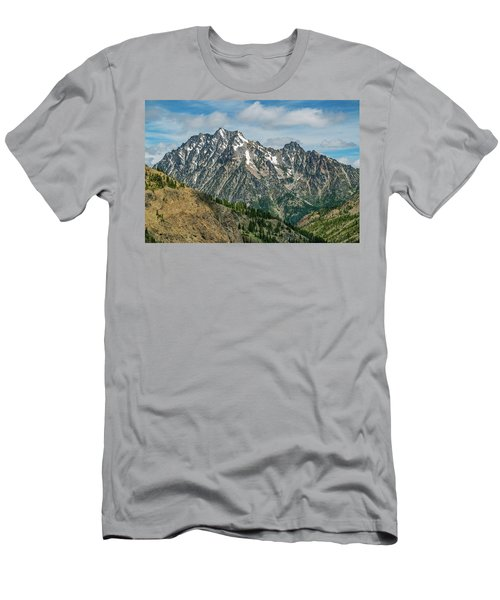 The Rock At Mount Stuart Men's T-Shirt (Athletic Fit)