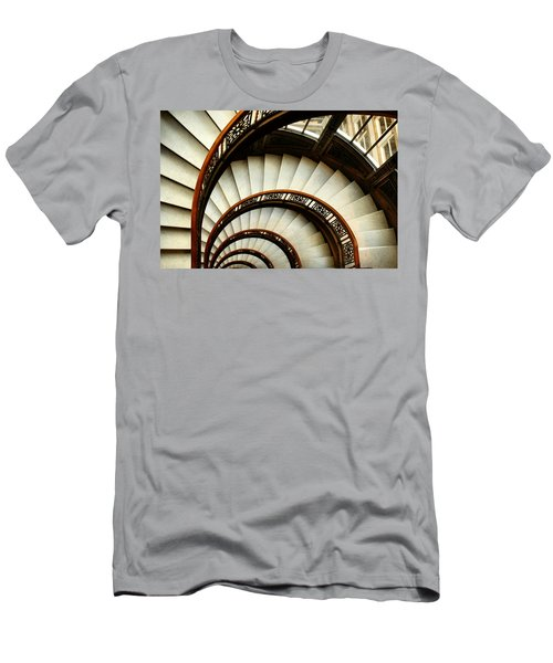 The Rookery Spiral Staircase Men's T-Shirt (Athletic Fit)