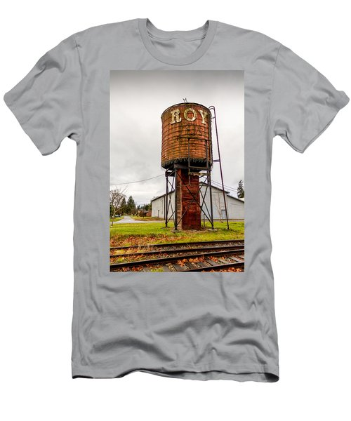 The Roy Water Tower Men's T-Shirt (Athletic Fit)