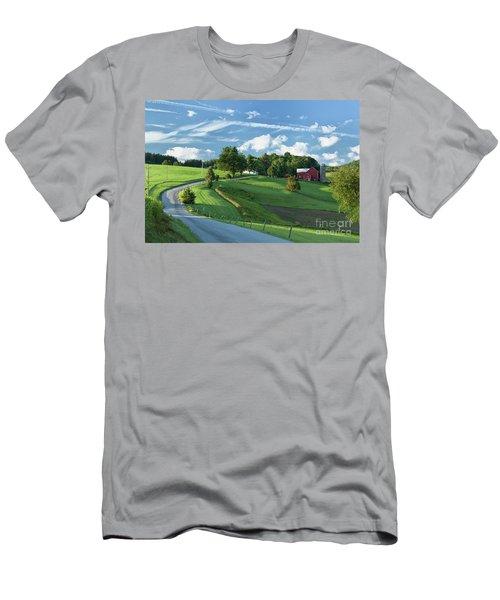 The Rudy Farm Men's T-Shirt (Slim Fit) by Nicki McManus