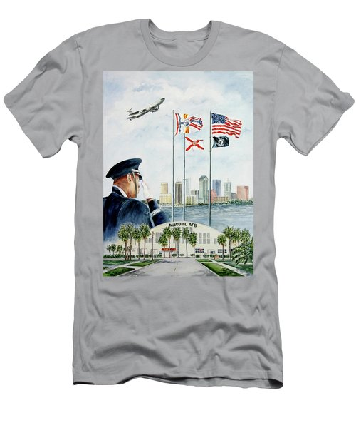 The Salute Men's T-Shirt (Athletic Fit)