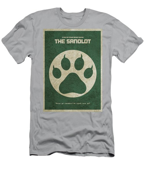 The Sandlot Alternative Minimalist Movie Poster Men's T-Shirt (Slim Fit) by Ayse Deniz