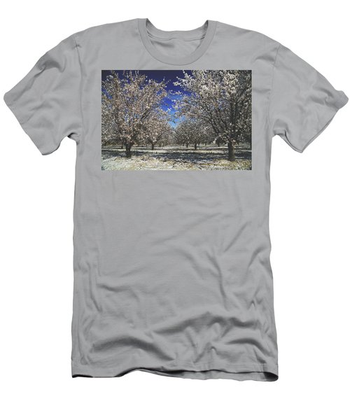 Men's T-Shirt (Slim Fit) featuring the photograph The Season Of Us by Laurie Search