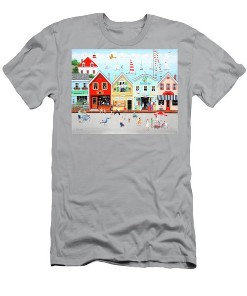 The Singing Bakers Men's T-Shirt (Athletic Fit)