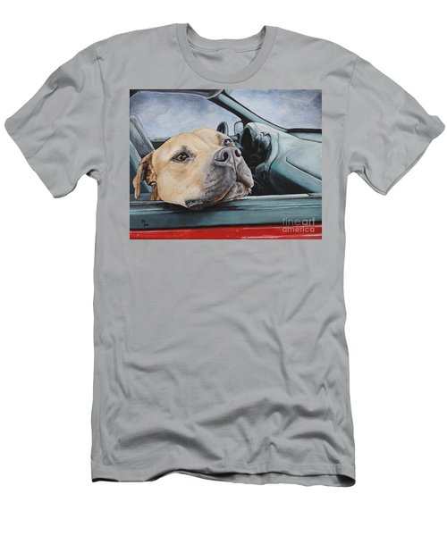 The Smell Of Freedom Men's T-Shirt (Slim Fit) by Mary-Lee Sanders