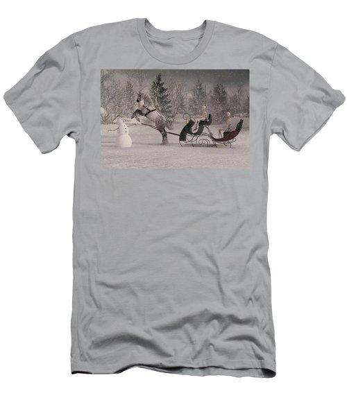 The Snowman Men's T-Shirt (Athletic Fit)