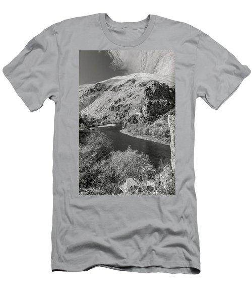 South Fork Boise River 3 Men's T-Shirt (Athletic Fit)