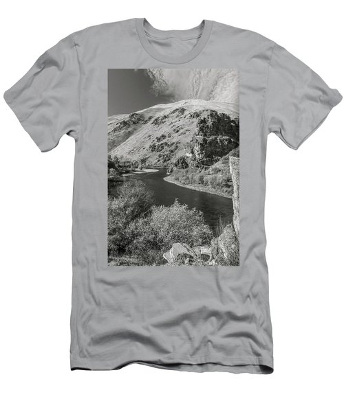 South Fork Boise River 3 Men's T-Shirt (Athletic Fit)