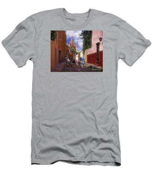 The Street Workers Men's T-Shirt (Slim Fit) by John  Kolenberg