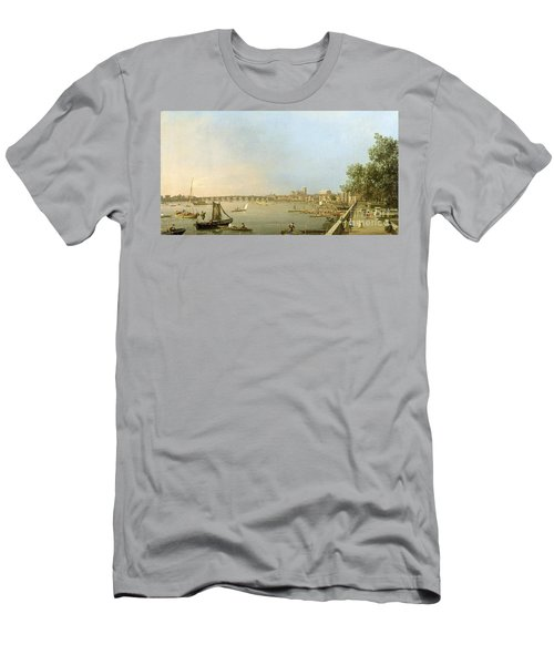 The Thames From The Terrace Of Somerset House Men's T-Shirt (Athletic Fit)