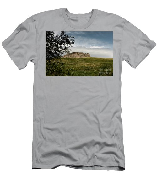 Men's T-Shirt (Slim Fit) featuring the photograph The Three Fingers by Bruno Spagnolo
