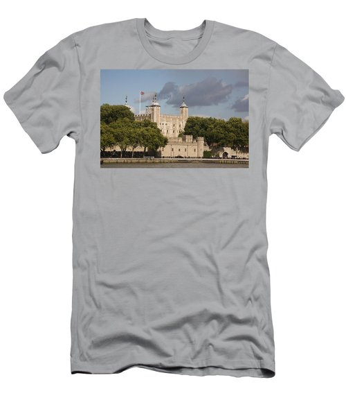 Men's T-Shirt (Slim Fit) featuring the photograph The Tower Of London. by Christopher Rowlands