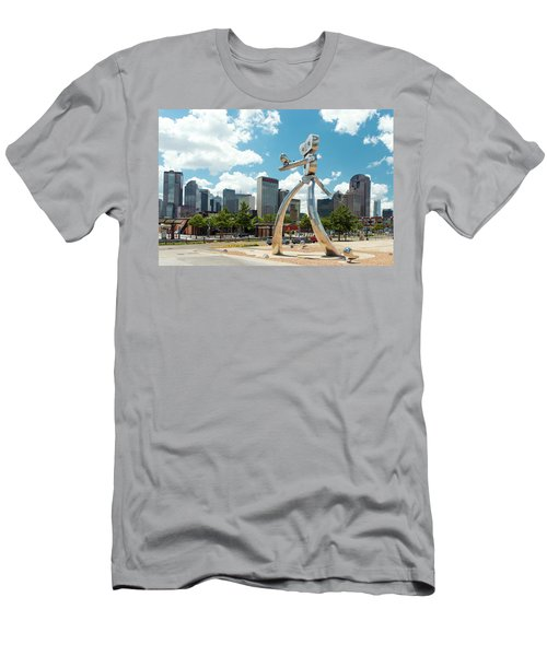 The Traveling Man Dallas 080618 Men's T-Shirt (Athletic Fit)