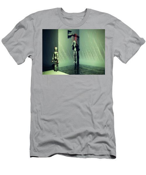 The Truthsayer Meets Denial Men's T-Shirt (Athletic Fit)