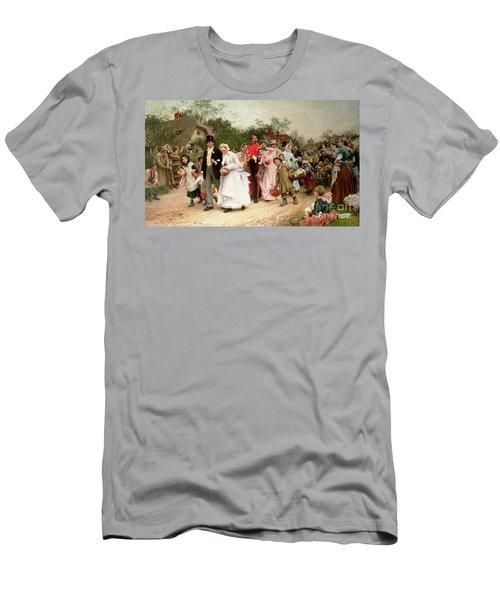 The Village Wedding Men's T-Shirt (Athletic Fit)