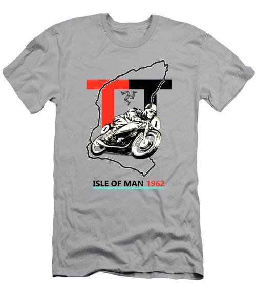 The Vintage Isle Of Man Tt Men's T-Shirt (Athletic Fit)
