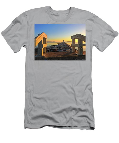 The Walkway Men's T-Shirt (Athletic Fit)