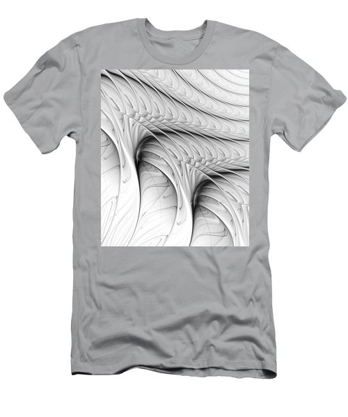 Men's T-Shirt (Athletic Fit) featuring the digital art The Wall by Anastasiya Malakhova