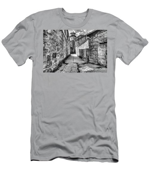 The Watch Tower Eastern State Penitentiary Men's T-Shirt (Athletic Fit)