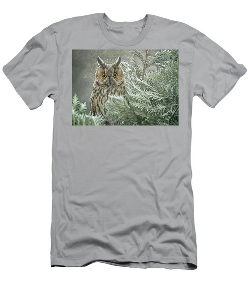 The Watcher In The Mist Men's T-Shirt (Athletic Fit)