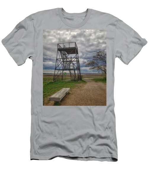 The Watchtower  Men's T-Shirt (Athletic Fit)
