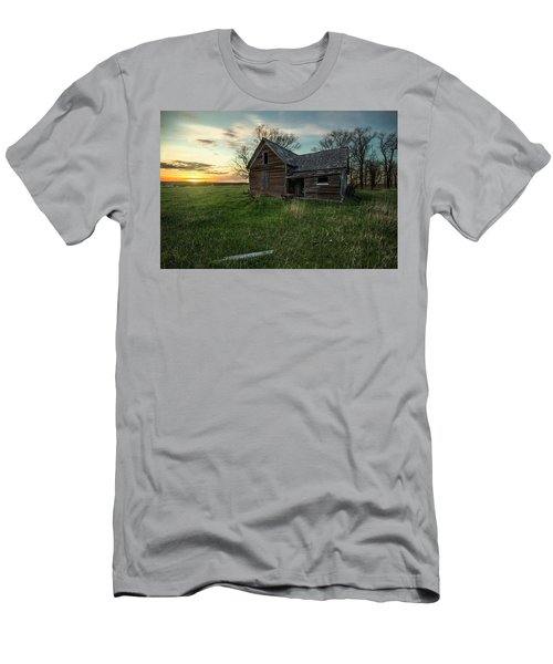 Men's T-Shirt (Slim Fit) featuring the photograph The Way She Goes by Aaron J Groen
