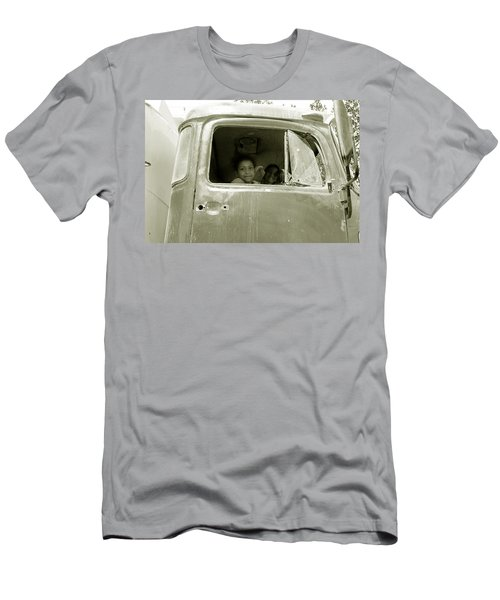 The Wild Ride Men's T-Shirt (Slim Fit) by Jez C Self